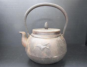 南部鉄器 鉄瓶
